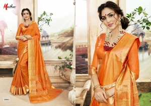 DESIGNER SAREE BY MANTHAN COTTON SILK FABRIC COLLECTION (7)