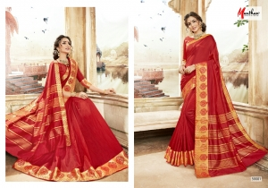 DESIGNER SAREE BY MANTHAN COTTON SILK FABRIC COLLECTION (8)