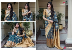 Manjubaa-Saree-Mannat-Silk-1501-1510-Series-Indian-Banarasi-Silk-Saree-Supplier-13