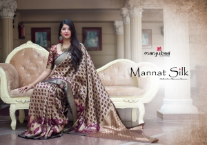 Manjubaa-Saree-Mannat-Silk-1501-1510-Series-Indian-Banarasi-Silk-Saree-Supplier-2