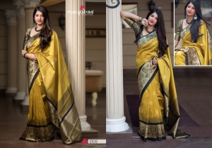Manjubaa-Saree-Mannat-Silk-1501-1510-Series-Indian-Banarasi-Silk-Saree-Supplier-4