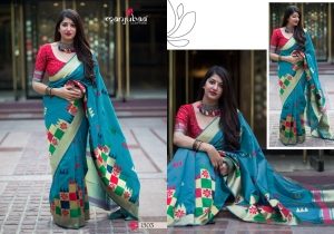 Manjubaa-Saree-Mannat-Silk-1501-1510-Series-Indian-Banarasi-Silk-Saree-Supplier-5