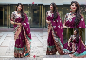 Manjubaa-Saree-Mannat-Silk-1501-1510-Series-Indian-Banarasi-Silk-Saree-Supplier-6