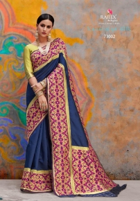 Kaushalya-Silk-By-Rajtex-Saree-73001-73012-Series-Silk-Saree-Exporter-Supplier-In-Surat-10