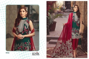 Shree Fabs Iznik Embroidered Collection Heavy Embroidered Faux Georgette Pakis (10)