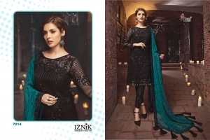 Shree Fabs Iznik Embroidered Collection Heavy Embroidered Faux Georgette Pakis (11)