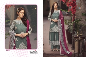 Shree Fabs Iznik Embroidered Collection Heavy Embroidered Faux Georgette Pakis (5)