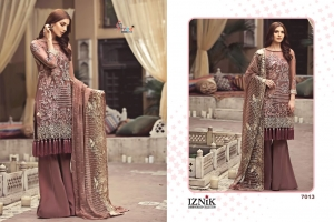 Shree Fabs Iznik Embroidered Collection Heavy Embroidered Faux Georgette Pakis (8)