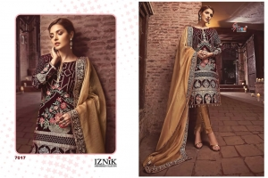 Shree Fabs Iznik Embroidered Collection Heavy Embroidered Faux Georgette Pakis (9)
