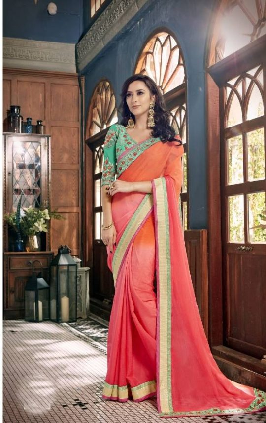 cf45237f43 Akansha by Triveni Heavy Designer Wholesale Single Available Printed Heavy  Fancy Fabric with embroidery Work Party Wear Sarees at Wholesale Rate